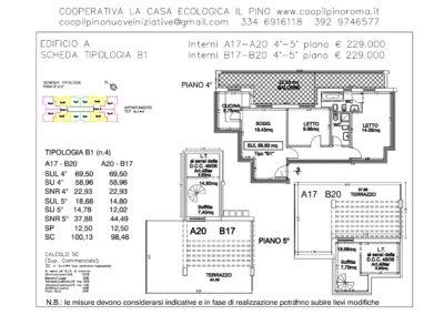 EDIFICIO A SCHEDA TIPOLOGIA B1