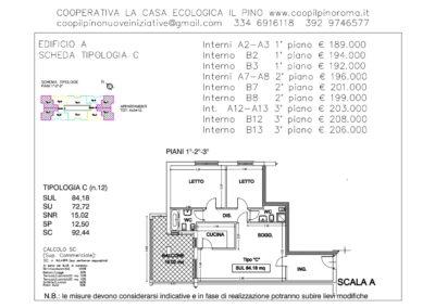 EDIFICIO A SCHEDA TIPOLOGIA C